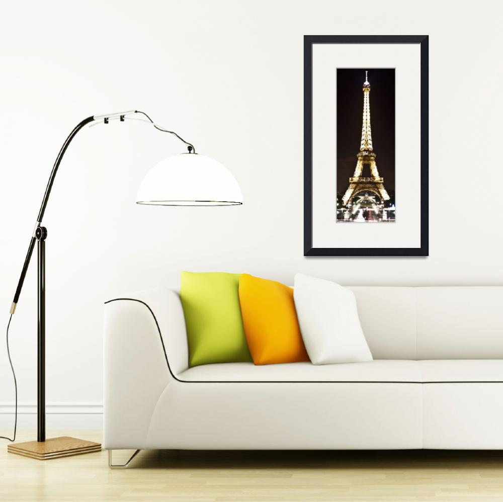 """""""Eiffel Tower at Night&quot  (2011) by SeansPhotos"""
