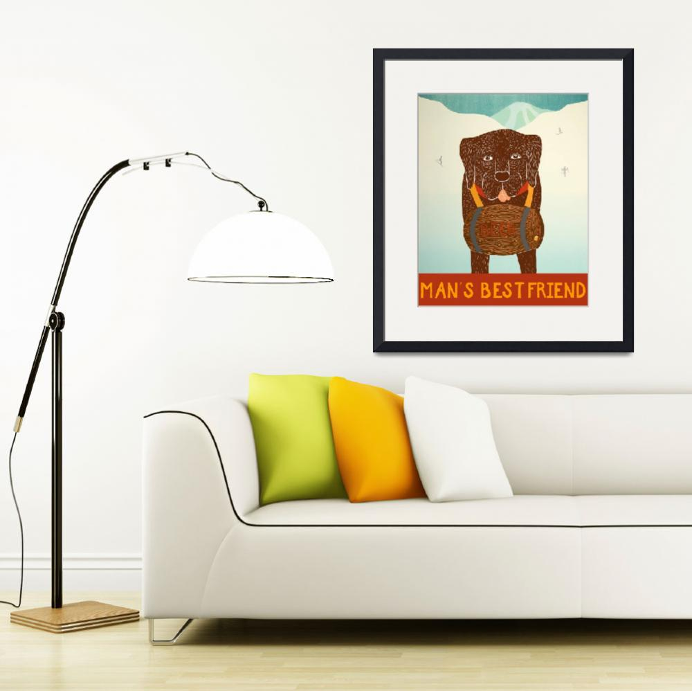 """Mans Best Friend Choc&quot  by artlicensing"