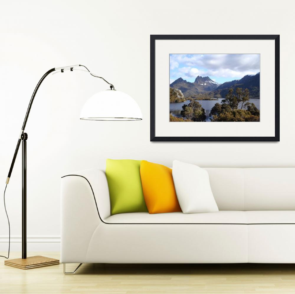 """""""Dove Lake and Cradle Mountain, Tasmania 006&quot  (2009) by dawncloudflower"""