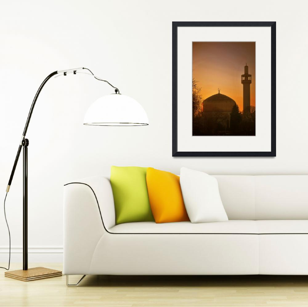 """""""London Central Mosque&quot  (2009) by spottydog06"""