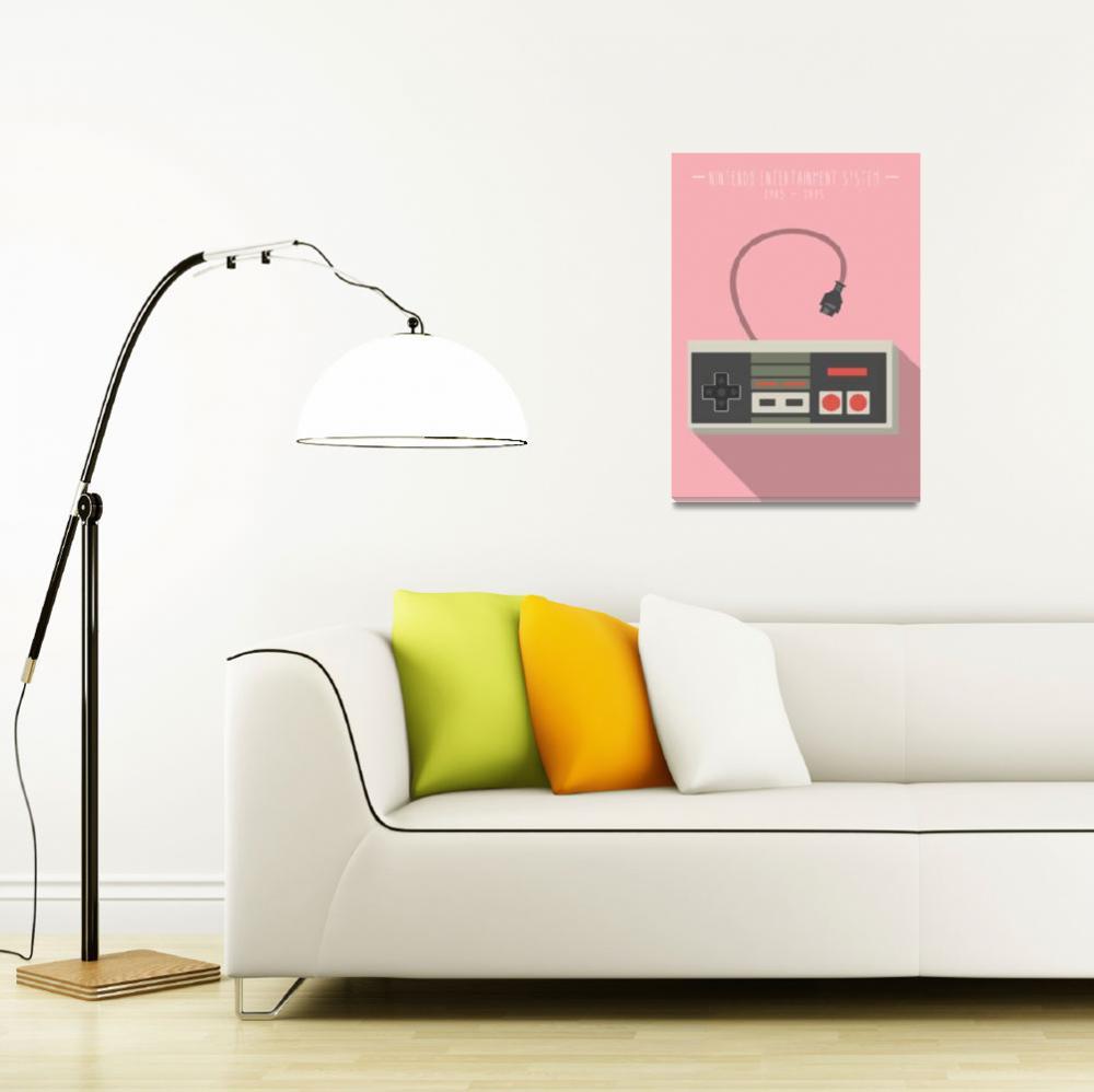 """NES - Pink""  (2014) by 8bit"