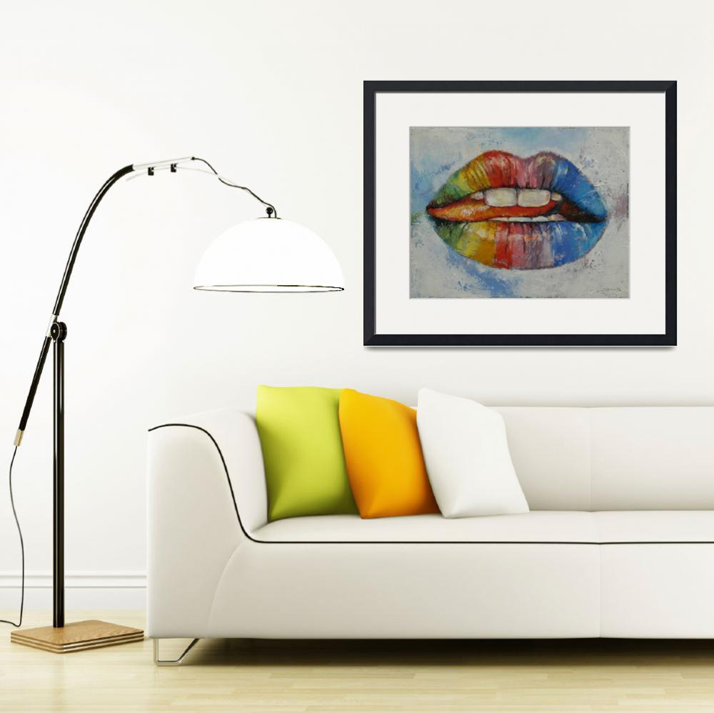 """""""Lips&quot  by creese"""