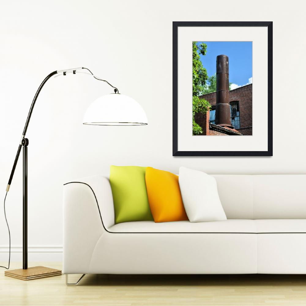 """""""Silk Mill Exterior&quot  by LJS"""