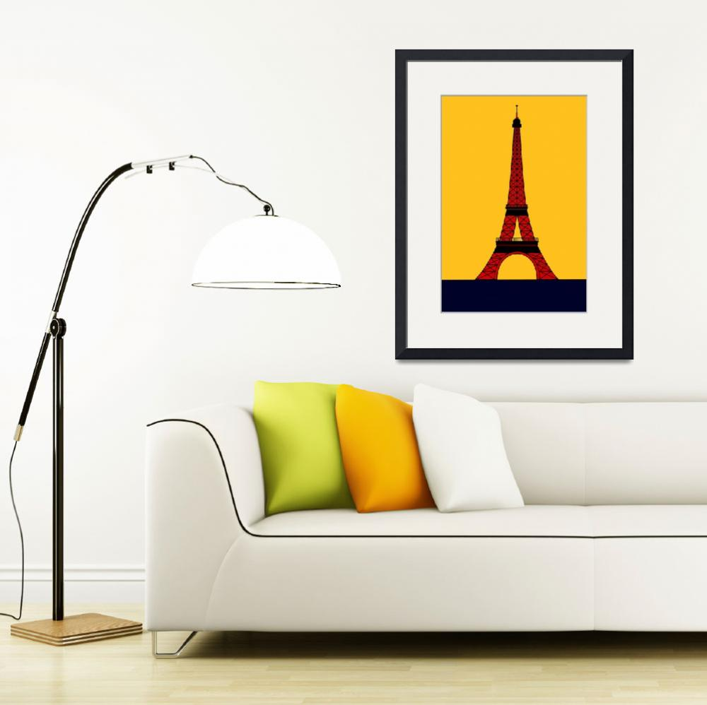 """""""Inspired by the Eiffel Tower&quot  by Lonvig"""