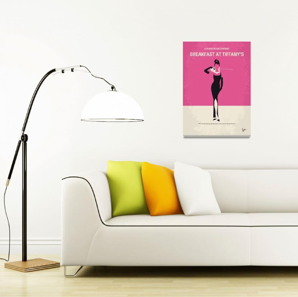 """No204 My Breakfast at Tiffanys movie poster&quot  by Chungkong"