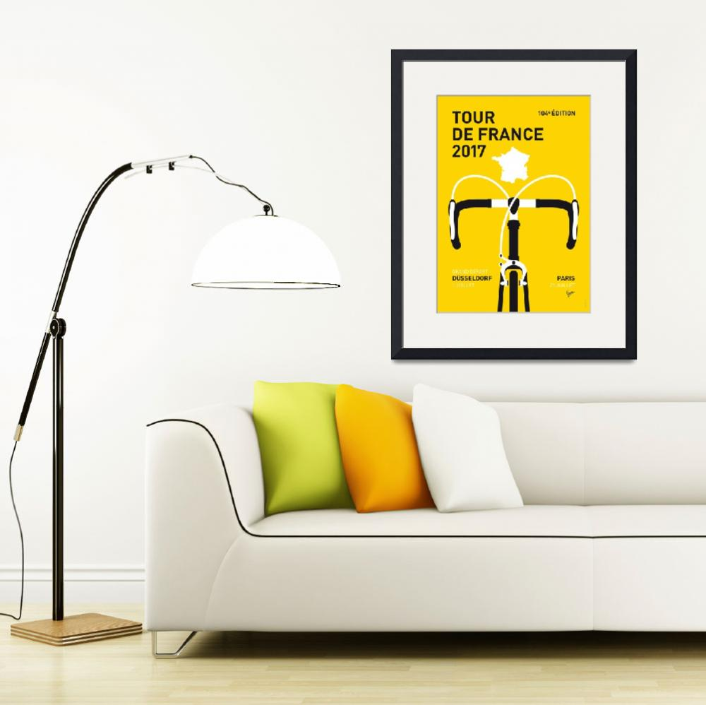 """MY TOUR DE FRANCE MINIMAL POSTER 2017""  by Chungkong"