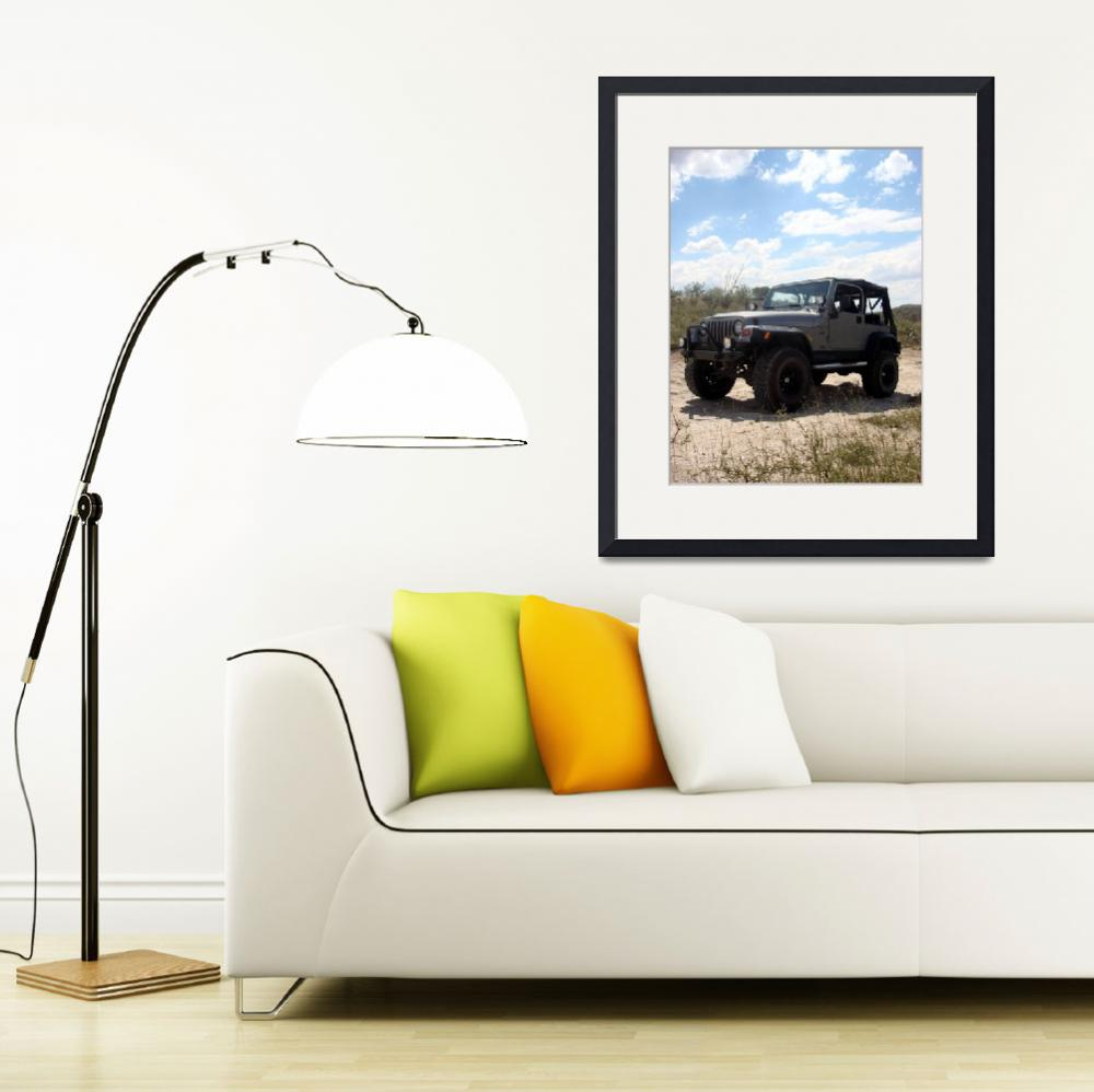 """Jeep in Redington""  (2007) by MyHartArt"