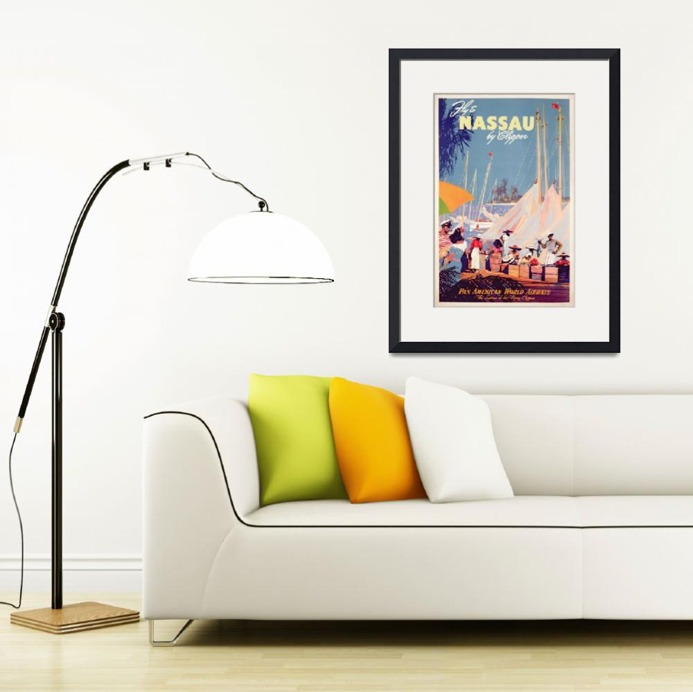 """Poster advertising Nassau&quot  by fineartmasters"
