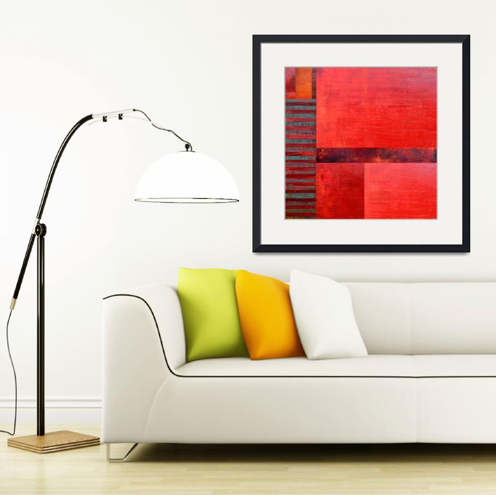 """Red with Orange 2.0&quot  (2017) by Michelle1991"