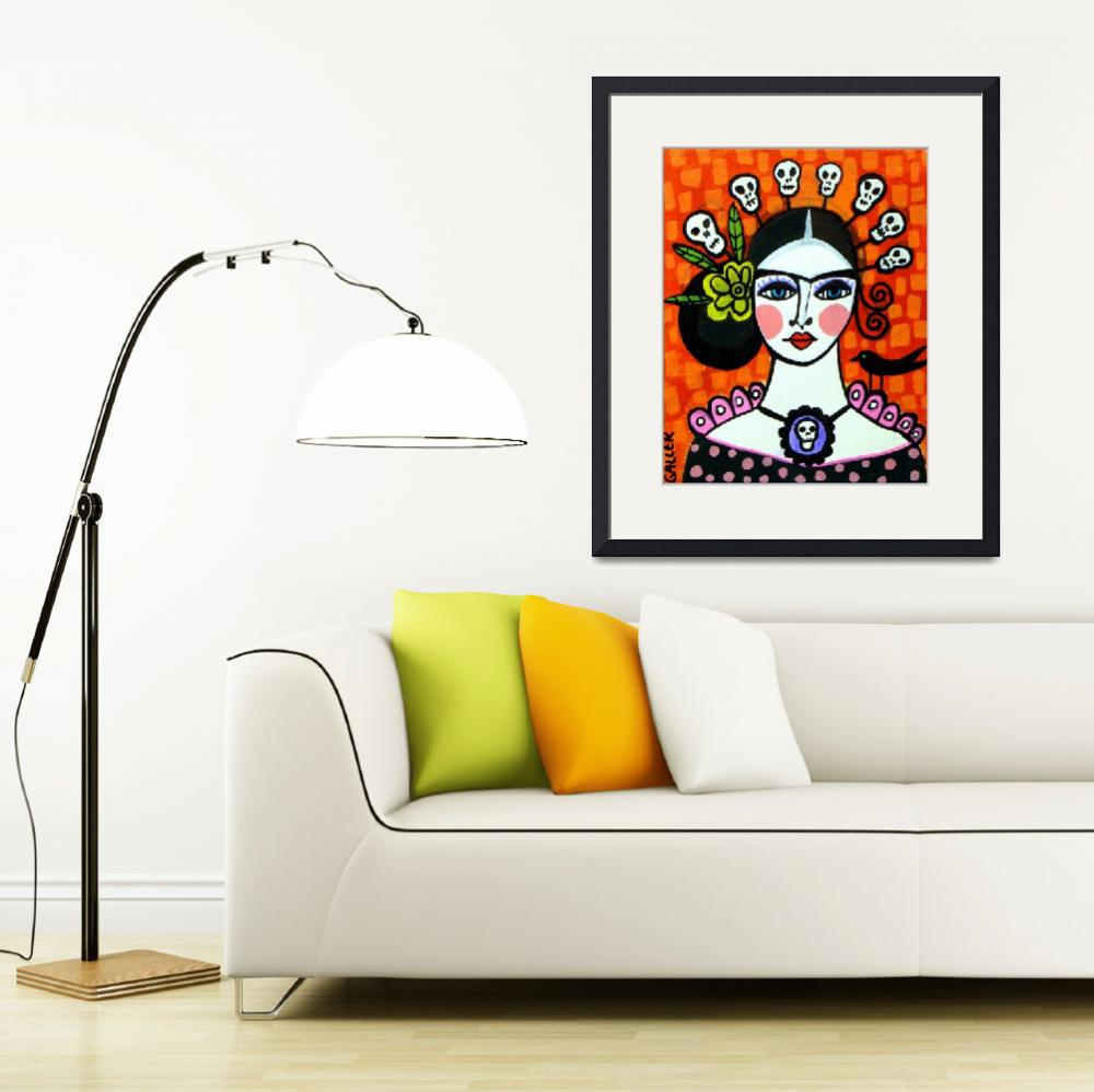 """""""Frida Day of The Dead""""  by hgaller"""