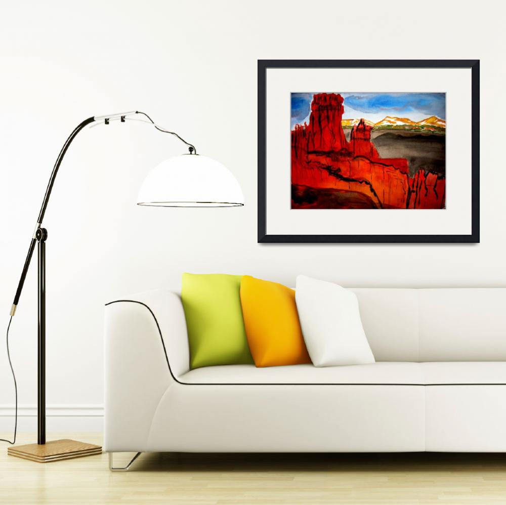 """""""Red Canyon Utah&quot  (2010) by PaulC"""