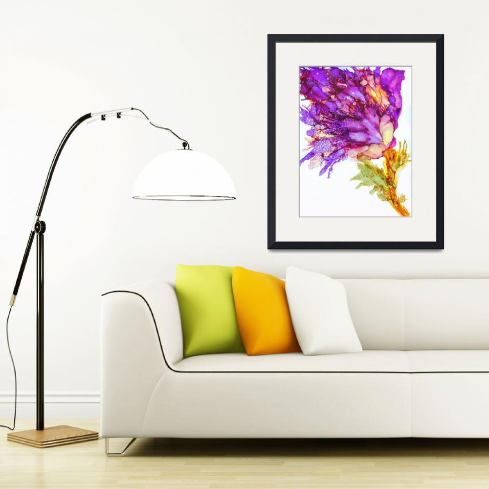 """""""Crazy flowers""""  by Art_by_Lilia"""