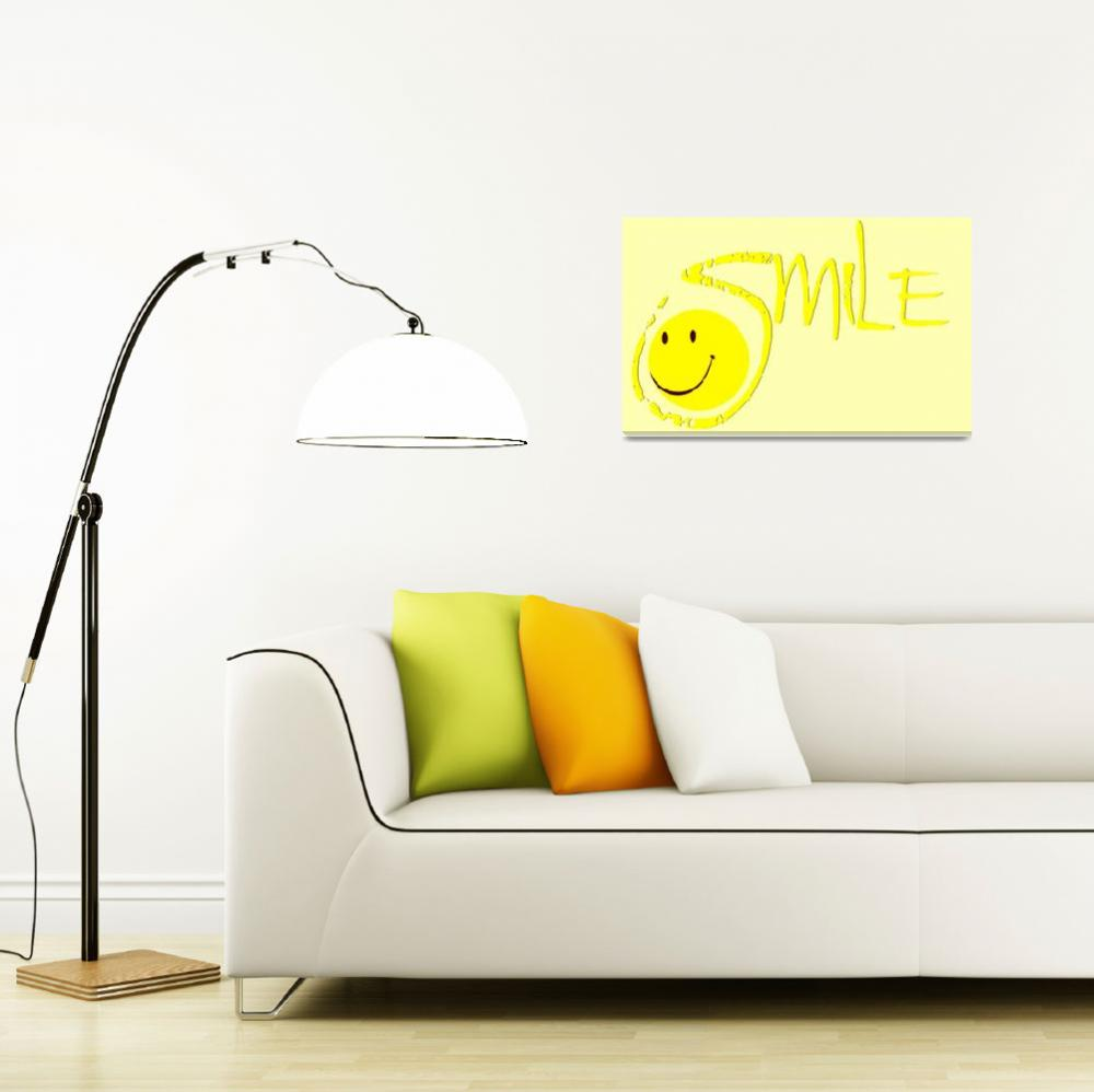 """""""smile all yellow&quot  by lizmix"""