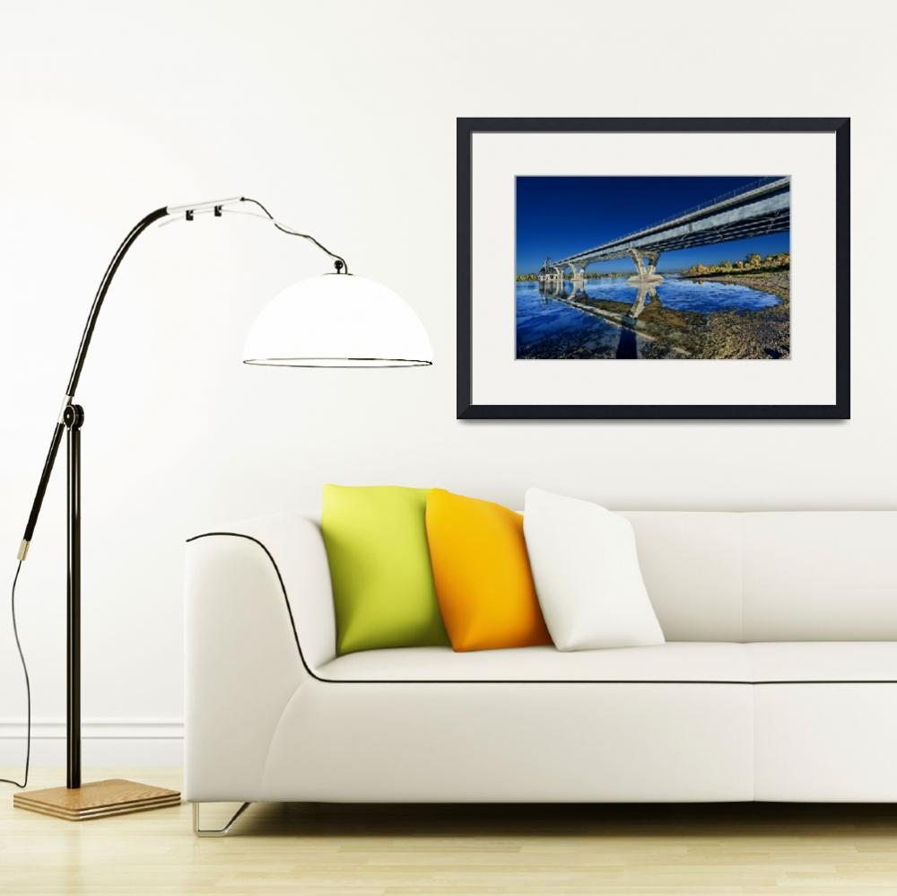 """""""Champlain Bridge crossing over Lake Champlain&quot  (2014) by New-Yorkled"""
