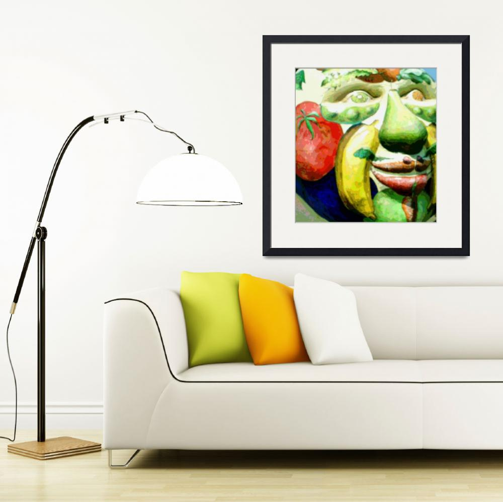"""""""Fruit Face&quot  (2009) by fashion101"""