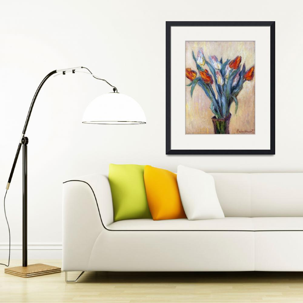 """""""Tulips by Claude Monet&quot  by fineartmasters"""
