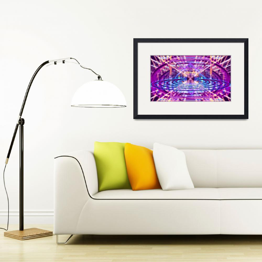 """""""Rave Vision Synesthesia - Psychedelic Geometric Ar""""  (2014) by LeahMcNeir"""