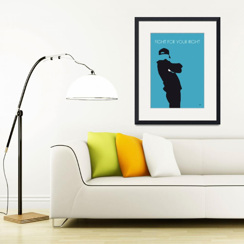 """No025 MY BEASTIE BOYS Minimal Music poster&quot  by Chungkong"