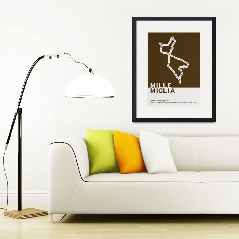 """""""Legendary Races - 1927 Mille Miglia&quot  by Chungkong"""