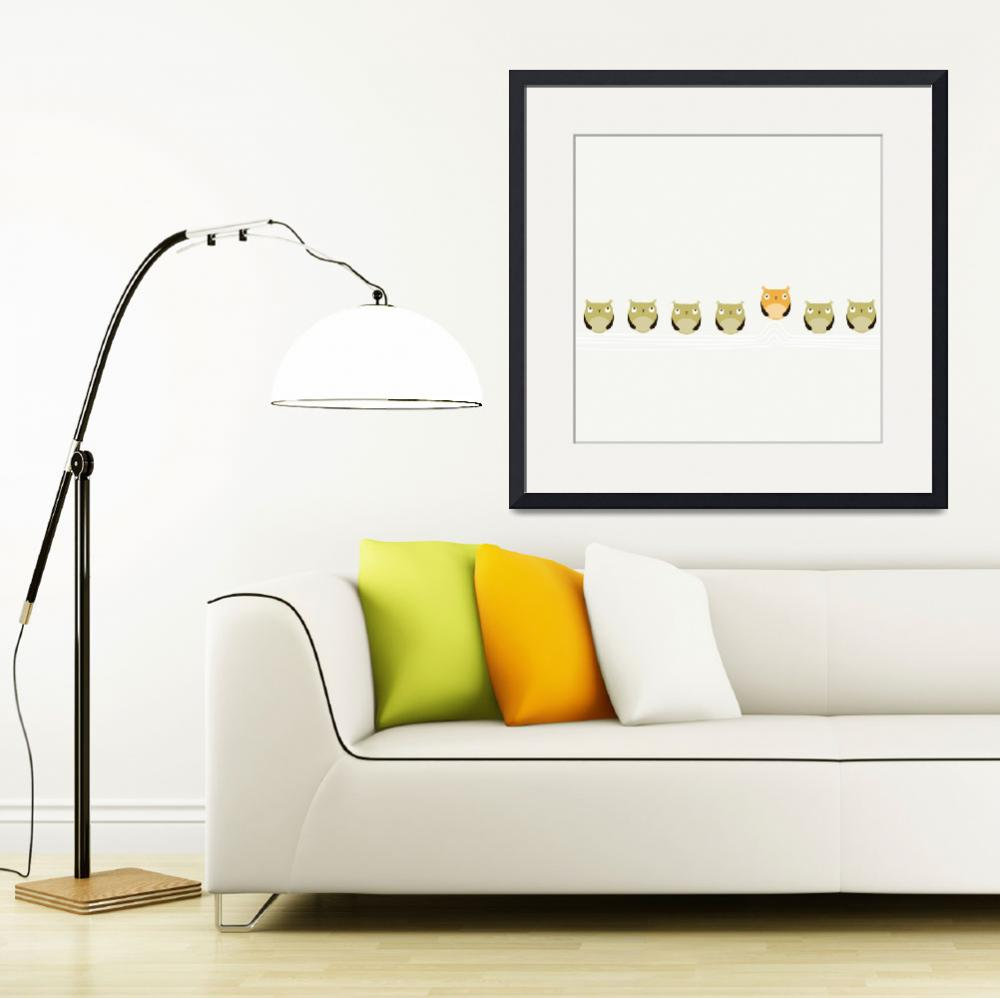 """Baby Nursery - BE Original - Nursery Art Collectio&quot  (2011) by hipbabyart"