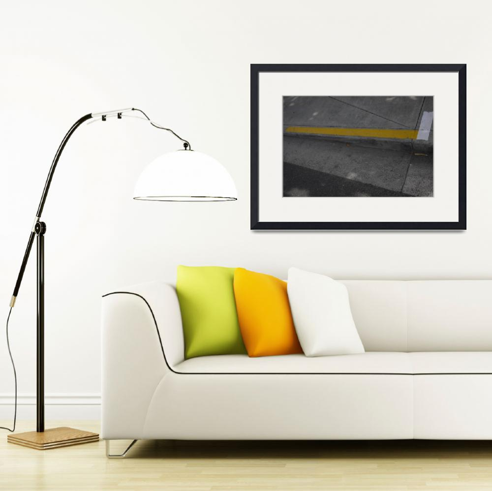 """""""yellow and white lines""""  (2011) by lexly87"""