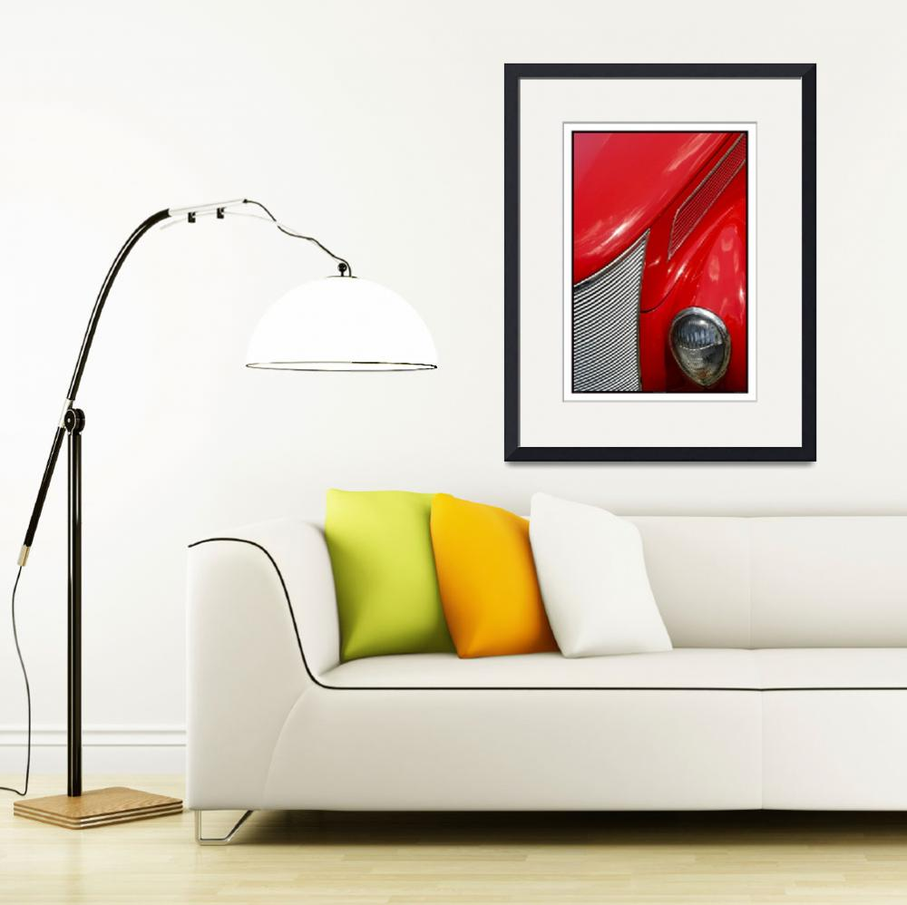 """""""Classic Car Red 07.14.07_233""""  (2007) by paulhasara"""