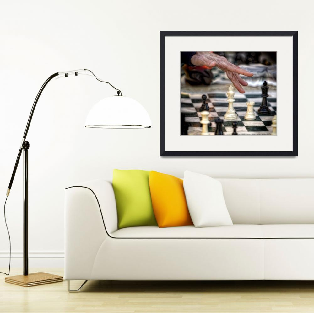 """""""Chess Players no2&quot  (2009) by joegemignani"""