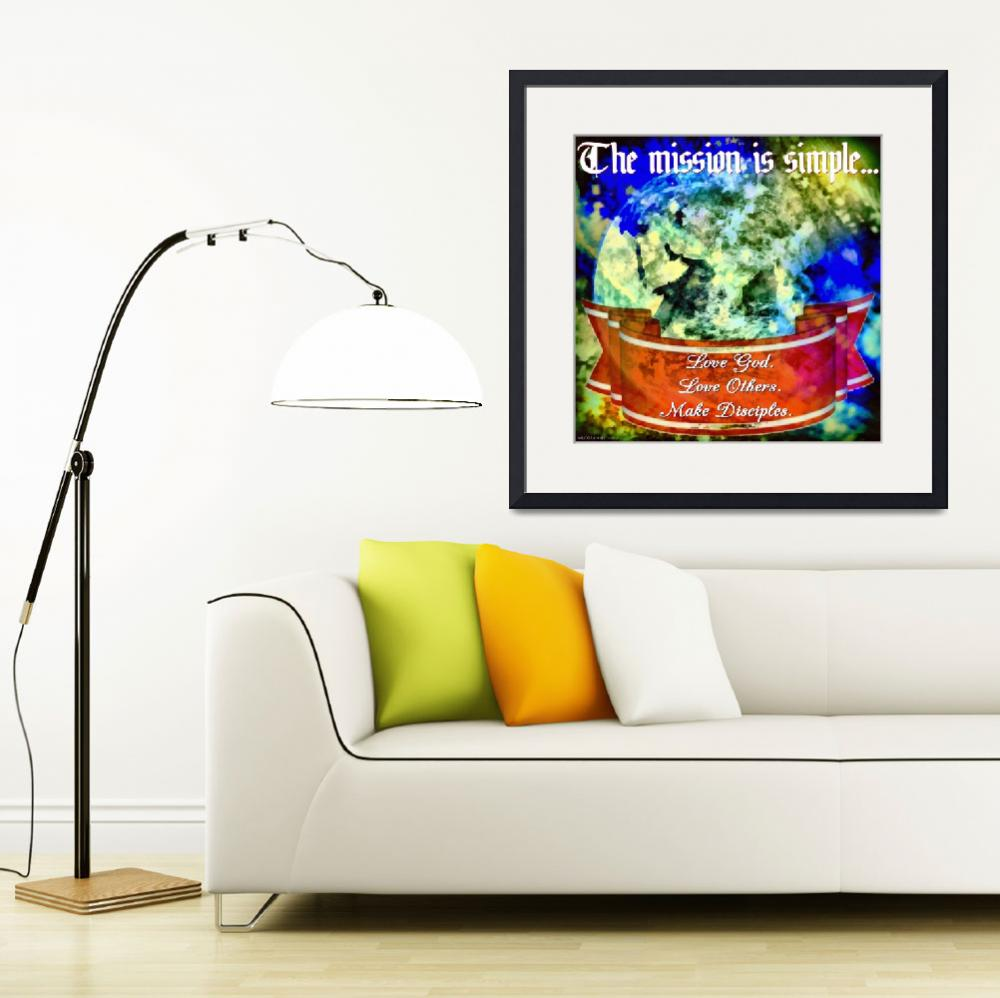 """Earth_Eastern_Hemisphere_DAP_Realism_DAP_Realism i&quot  by Romans12Designs"