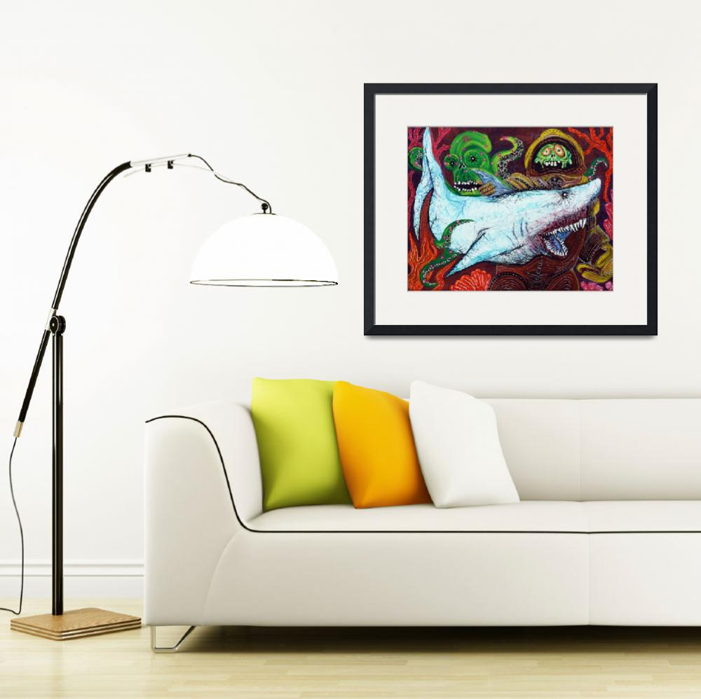 """""""Creatures Of The Deep&quot  (2013) by ArtPrints"""