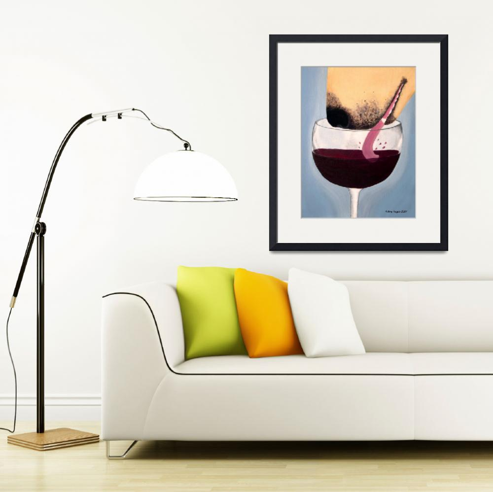"""""""Wine Is Best Shared With Friends 2&quot  by DogsandFlowers"""