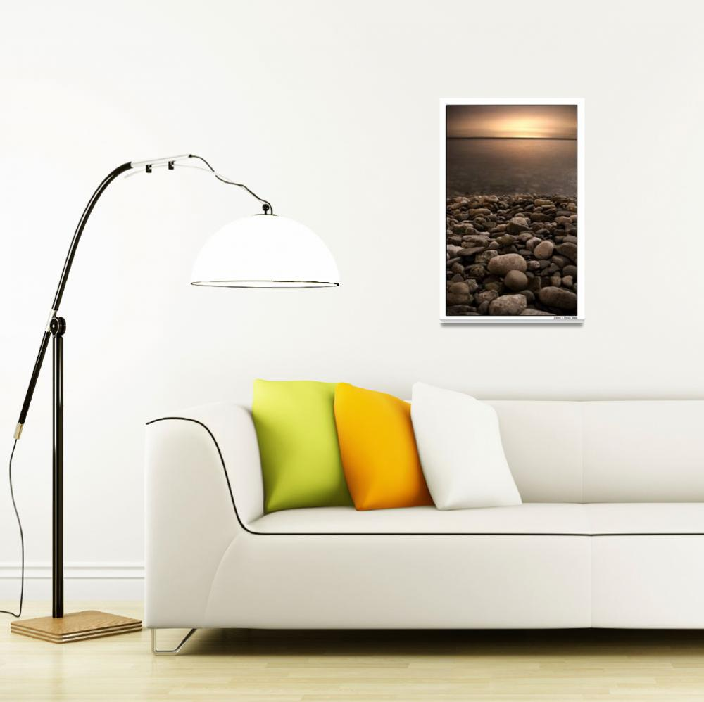 """""""Lake Ontario by Night&quot  (2008) by insightimaging"""