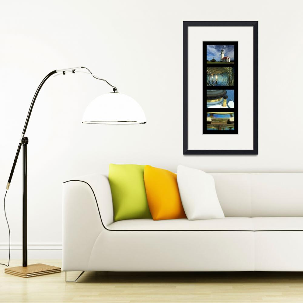 """""""Cape Blanco Lighthouse Tetraptych - P&quot  (2009) by jameseddy"""