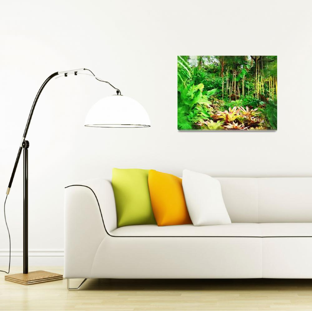 """""""exposition Tropical foliage florida miami&quot  by palmimages"""