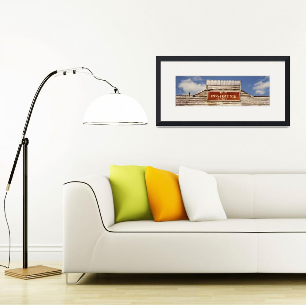 """""""High section view of a post office&quot  by Panoramic_Images"""