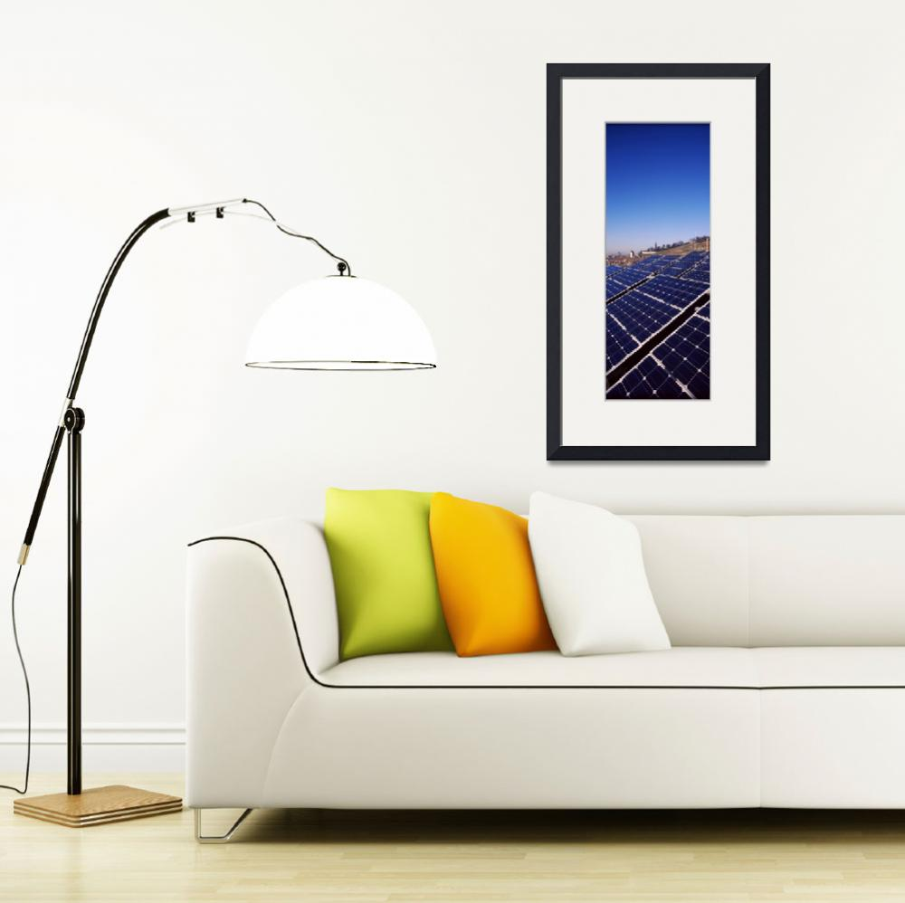 """""""Solar panels on a brewery rooftop""""  by Panoramic_Images"""