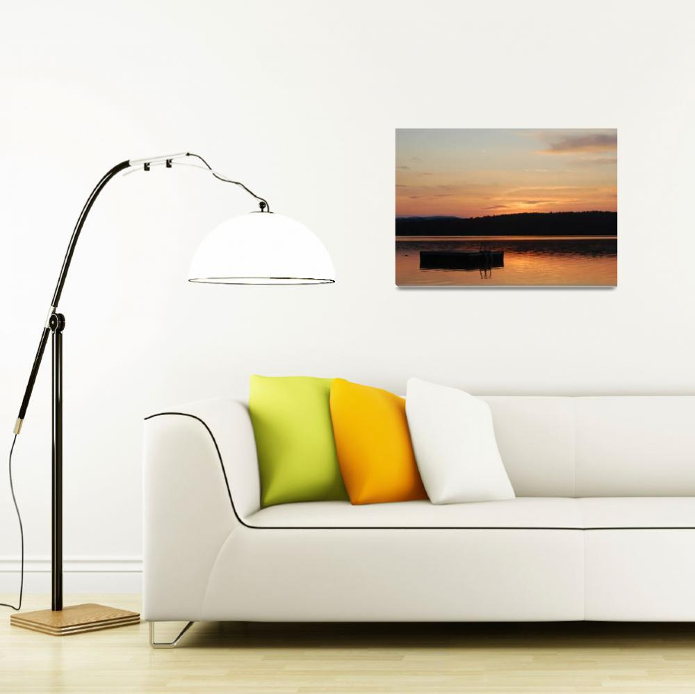 """""""The Dock at Dawn""""  (2009) by aroundtheisland"""