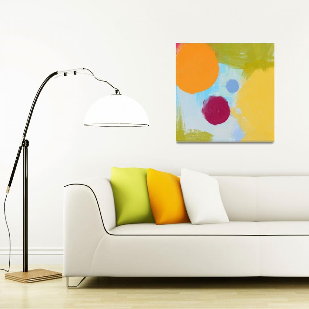 """""""ORL-772 COLORFUL CIRCLES&quot  by Aneri"""