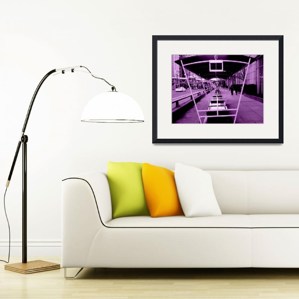 """Purple Street Infinity&quot  (2011) by csbrown81"