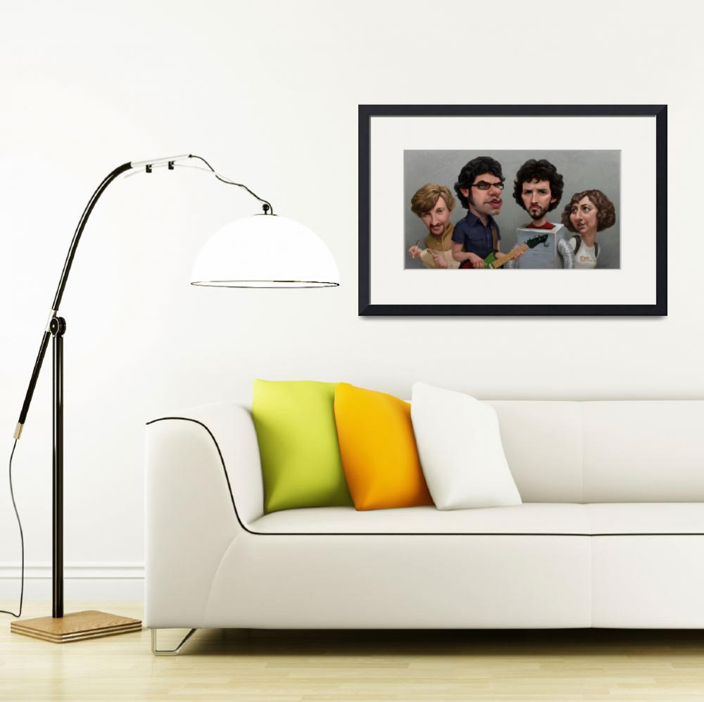 """""""Flight of the Conchords&quot  (2013) by blakeloosli"""