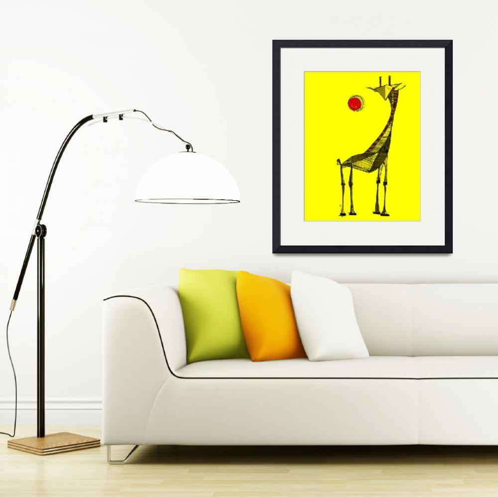 """""""YELLOW DAY&quot  (2006) by rsuazo"""