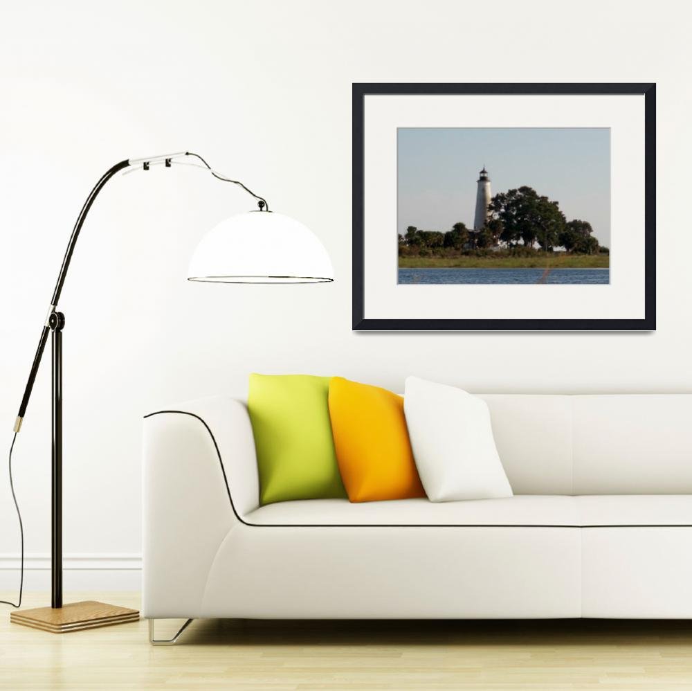 """""""st marks lighthouse""""  (2012) by bawhiddon1"""