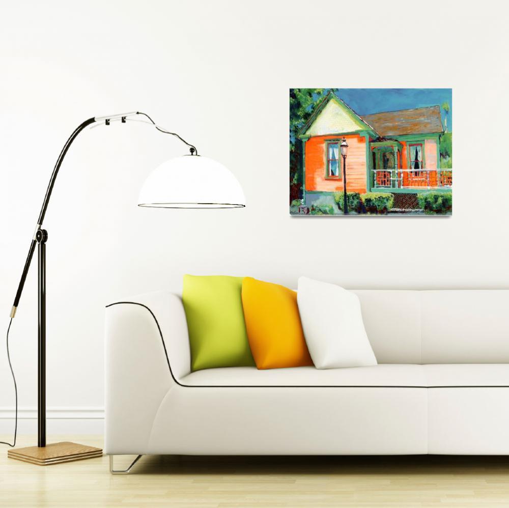 """The Senlis Cottage By  RD Riccoboni&quot  (2006) by RDRiccoboni"