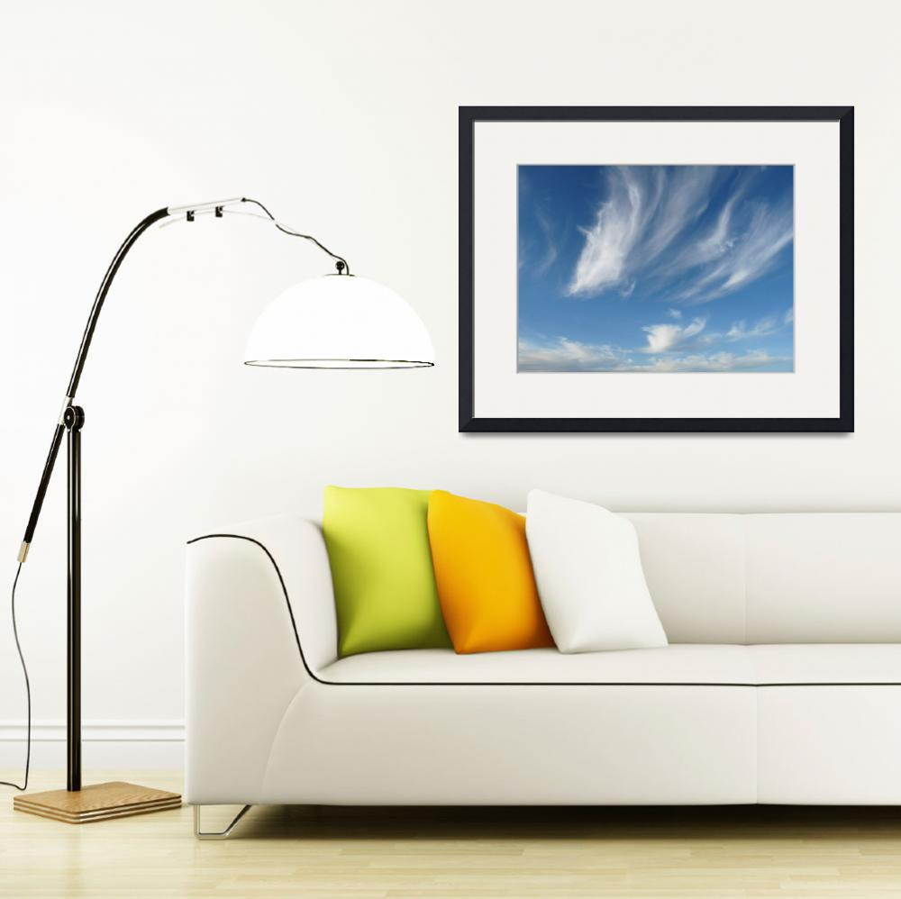 """""""Whimsical Clouds&quot  (2009) by kkmyers"""