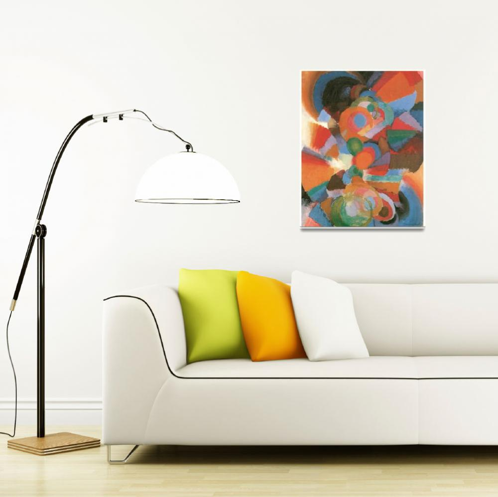 """""""Abstraction on Spectrum (Organization, 5)&quot  by ArtLoversOnline"""