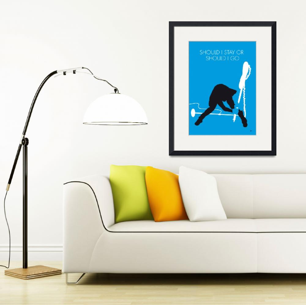 """No029 MY The clash Minimal Music poster&quot  by Chungkong"