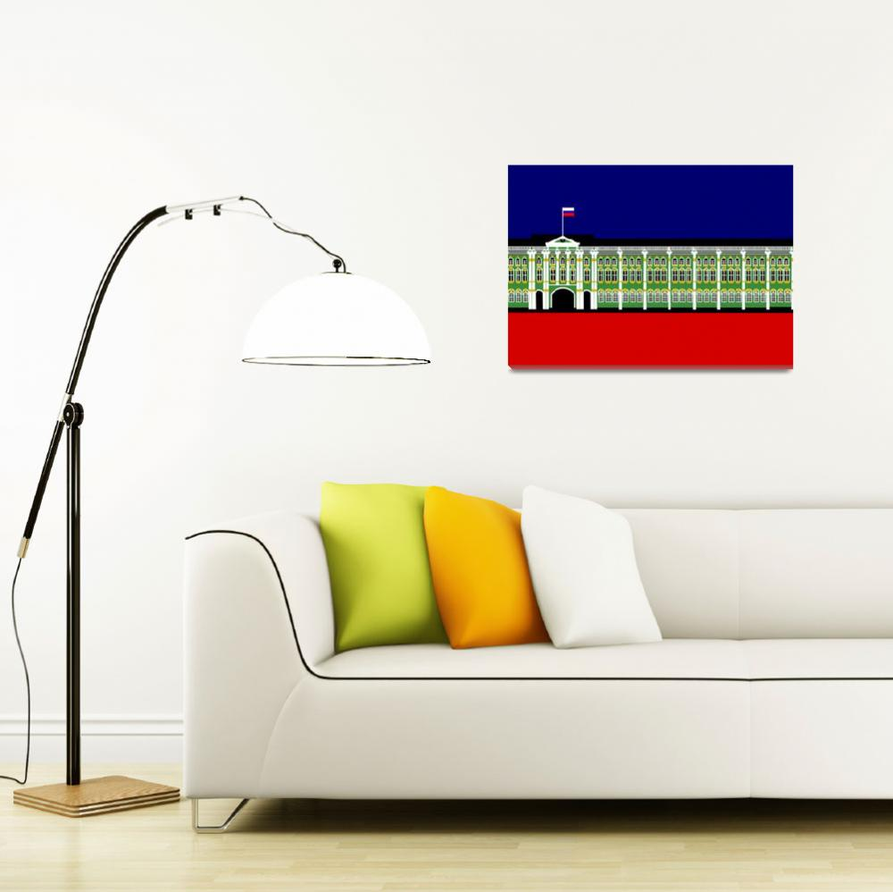 """""""The Winter Palace Inspiration - St. Pet.ersburg&quot  (2009) by Lonvig"""
