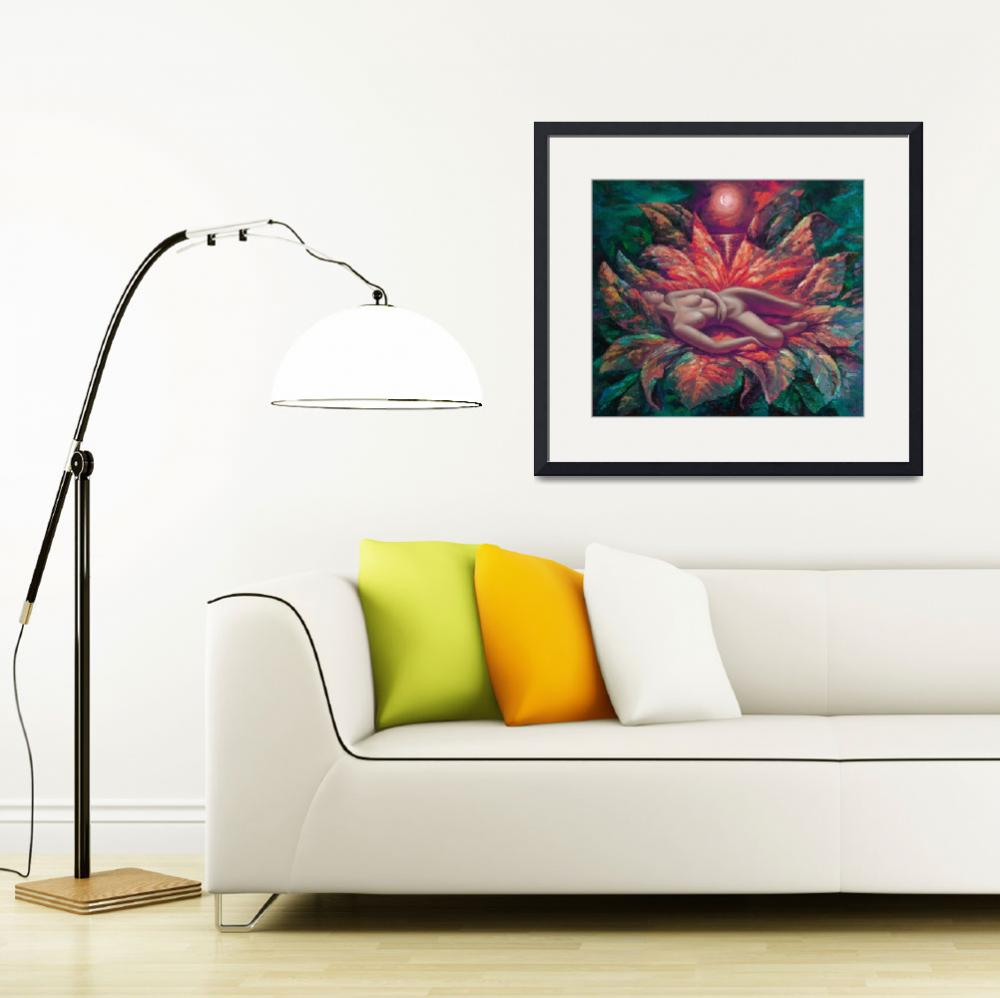 """""""Passion flower&quot  (2009) by yuryf"""