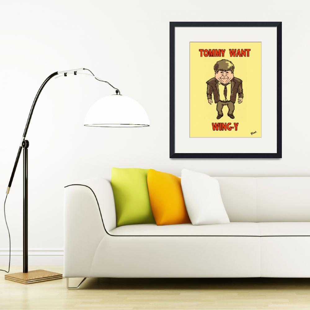 """""""Tommy Boy&quot  (2010) by Billifrench"""