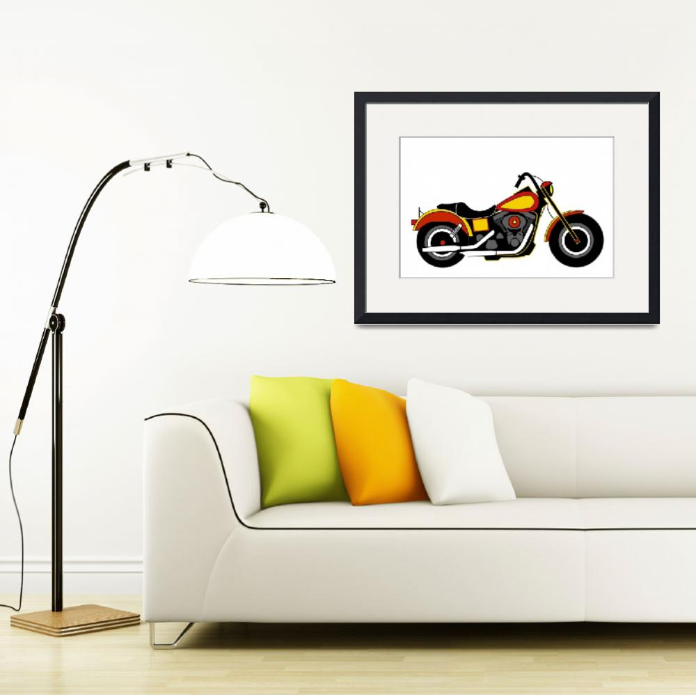 """""""Inspired by Harley Davidson DYNA&quot  by Lonvig"""