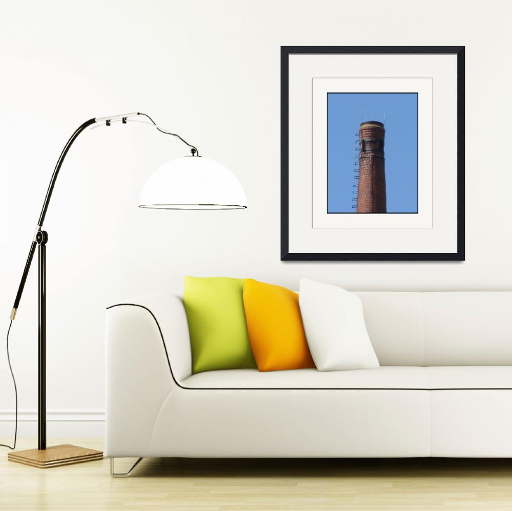 """""""Industrial Slender Stack Top&quot  (2011) by CuriousEye"""